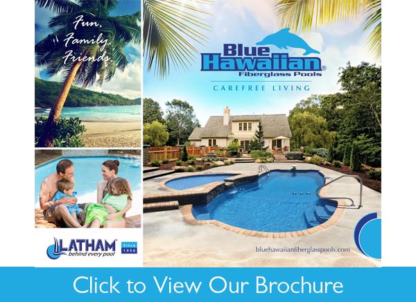 Cincinnati Pool Professionals Blue Hawaiian Fiberglass